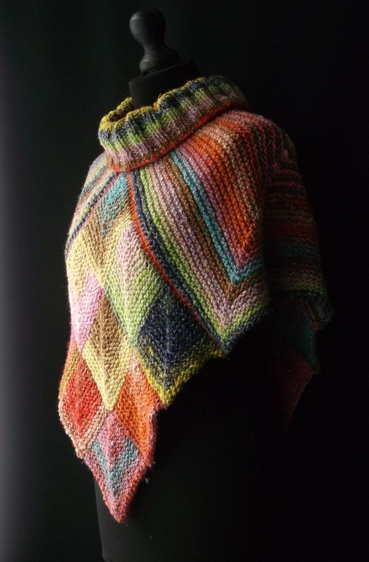 2293 best shawls wraps and ponchos images on pinterest ravelry noro topper pattern by brian smith bankloansurffo Choice Image
