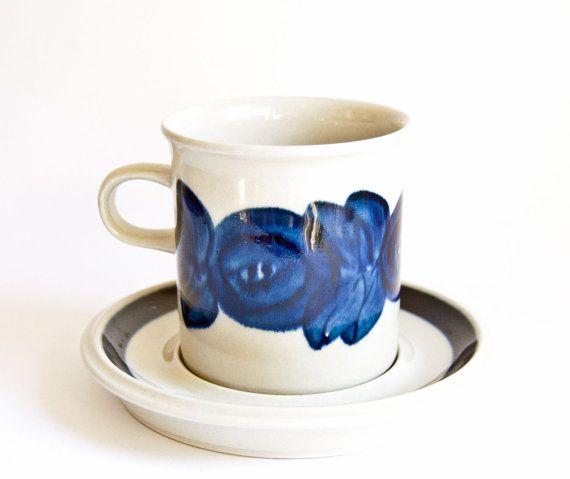 Arabia Finland // Anenome // Mug or Large Cup