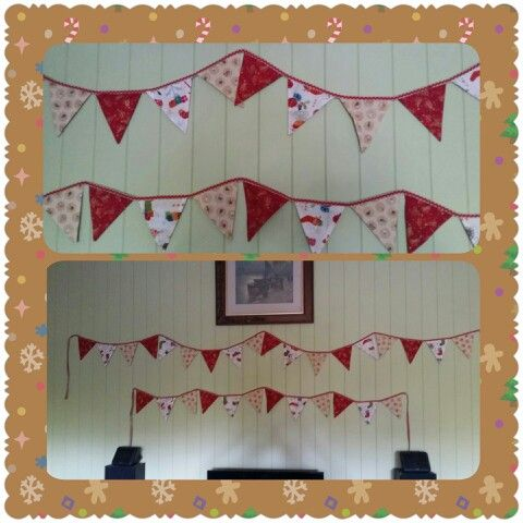 Amelia's bunting. Idea from a Facebook post.