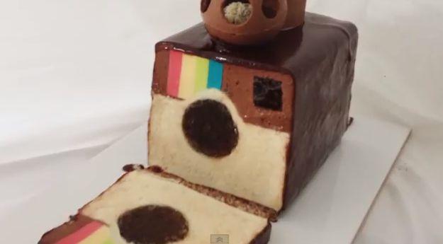 #Instagram Chocolate Mousse Cake