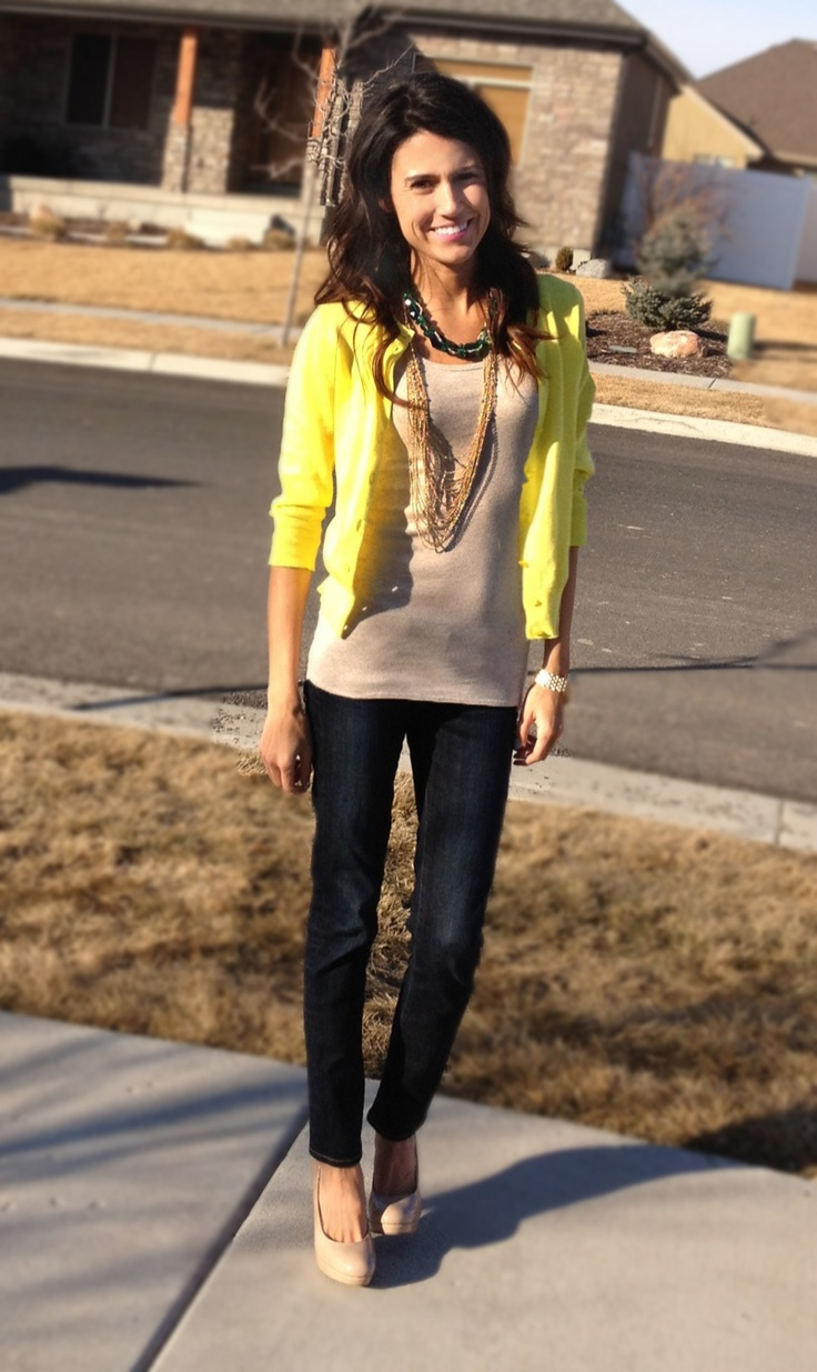 35 best Yellow cardi images on Pinterest | Cardigans, My style and ...