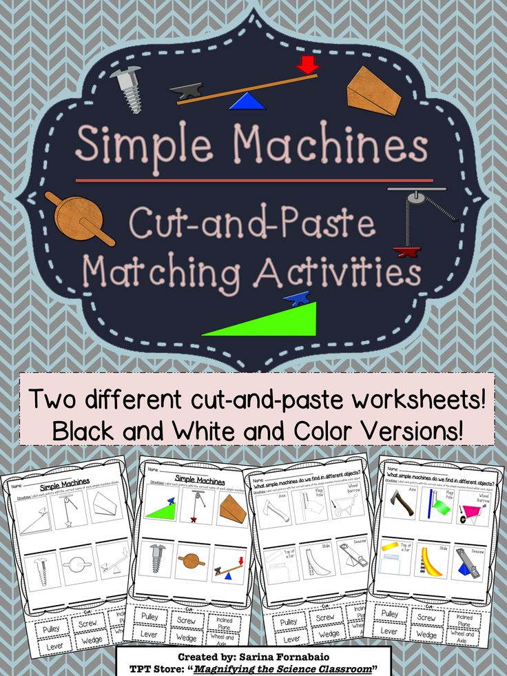Thematic Units - Simple Machines