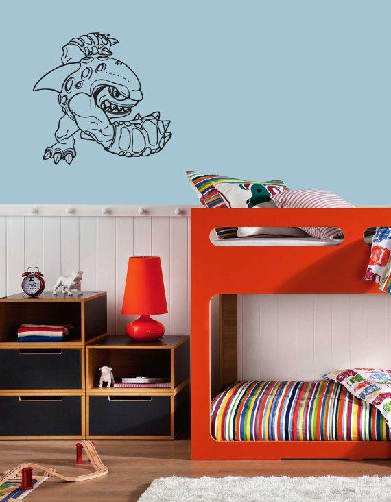Terrafin Skylander Wall Decal   Skylander Wall Art Children Bedroom