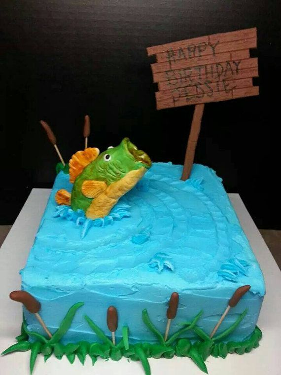 Hey, I found this really awesome Etsy listing at https://www.etsy.com/listing/222100009/gone-fishing-custom-edible-bass-cake