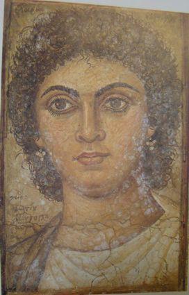 Φώτης Κόντογλου: προσωπογραφία τής γυναίκας του Μαρίας