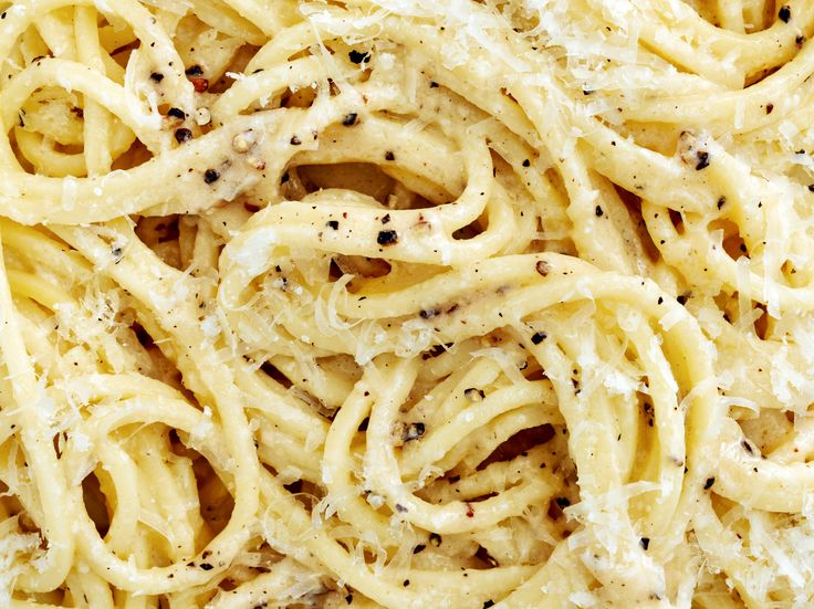 NYT Cooking: Cacio e Pepe,  the most basic, simplest pastas ,when made right, it is incredible.