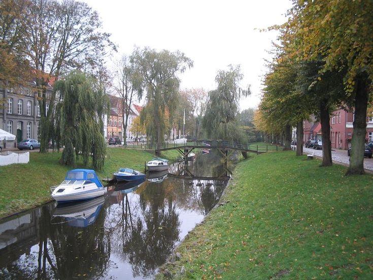 Grachten in Friedrichstadt
