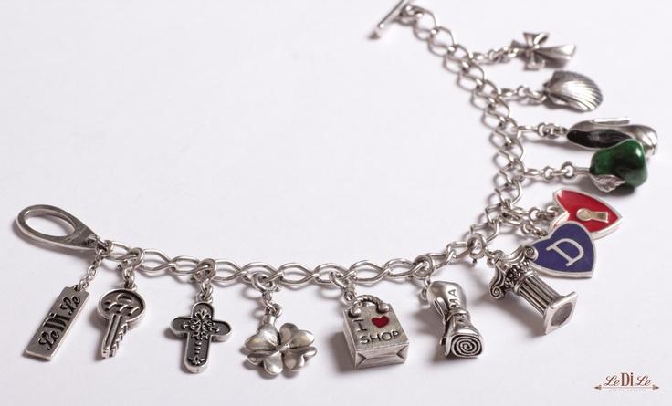 Ledile Charm-Bracelet чармы шармы амулет чарм браслет серебряные подвески, подвески на браслет, талисманы, амулеты, серебряные украшения