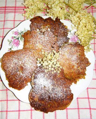 PaniKa w kuchni: Placki z kwiatem czarnego bzu