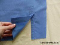 Camisa clássica passo a passo: Carcela, mangas, costuras rebatidas