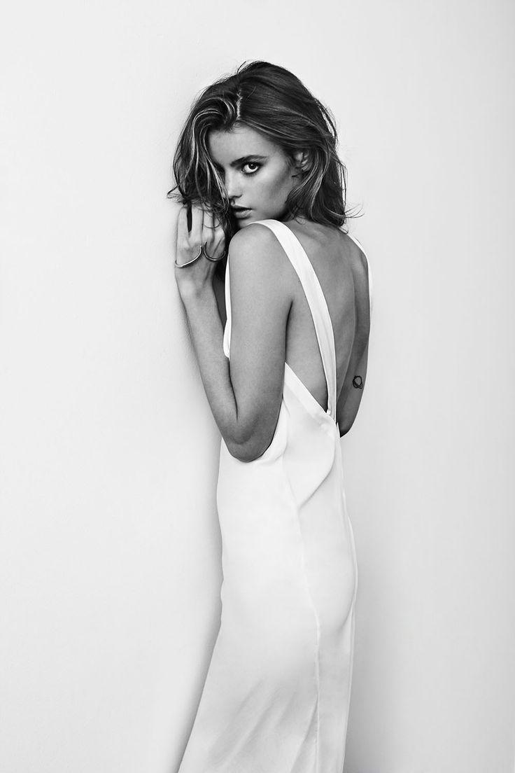 Montana Cox Lingerie Fashion Sylve Colles Photographer Model  Nude