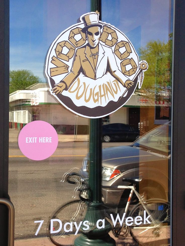 Voodoo Doughnut Mile High - Denver Colorado.  Voodoo Doughnut.  Places to visit in Denver Colorado