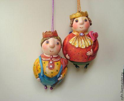 Сказочные персонажи ручной работы. Ярмарка Мастеров - ручная работа. Купить Принцы. Handmade. Разноцветный, подарок девушке
