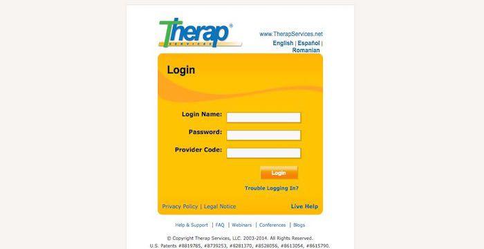 therap login net