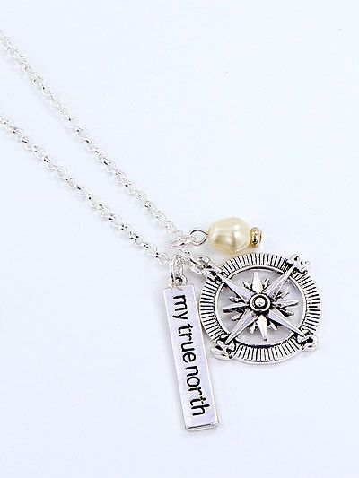 Sail through with this beautiful My True North Compass Necklace! This My True North Compass Necklace is a MUST HAVE! Designed with premium high quality material! You can get this unique necklace, but