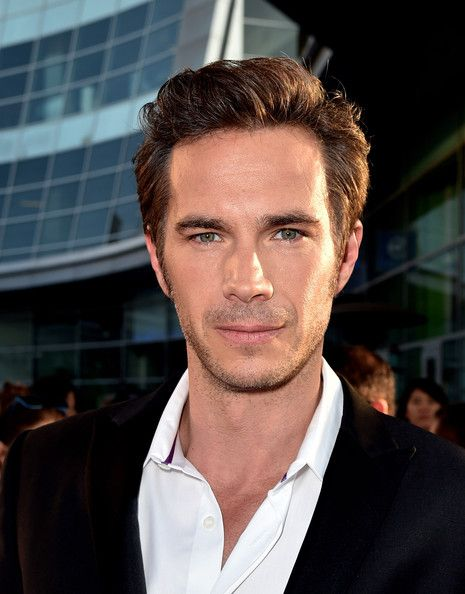 James D'Arcy in 'Let's Be Cops' Premieres in LA