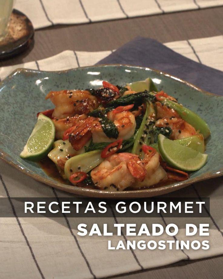 No dejes de probar este delicioso salteado, receta de Lis Ra en El Gourmet. Carne, Tacos, Food And Drink, Mexican, Keto, Chicken, Ethnic Recipes, Ideas, Asian Cuisine