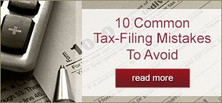 10 Common Tax Filing Mistakes