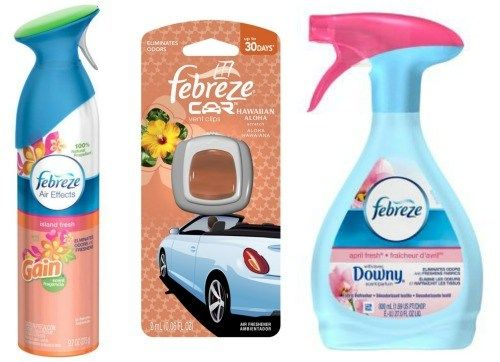 Febreze Air Effects, Fabric Refresher and Car Clips Only $1.49 at Rite Aid! (thru 3/4)