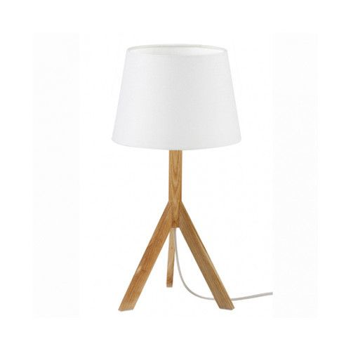 Sounds Like Home Albert Table Lamp White