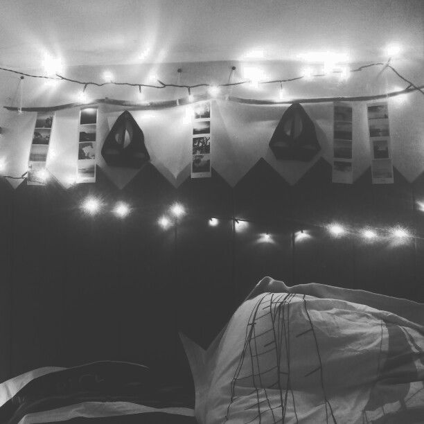 Boat head bed ! With lights , boats, sea pictures in my room