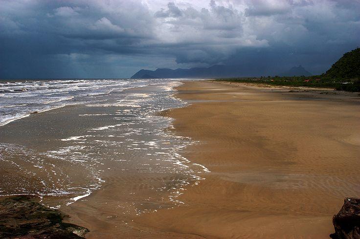 Praia do Una e Serra da Jureia / Praia da Jureia Itatins