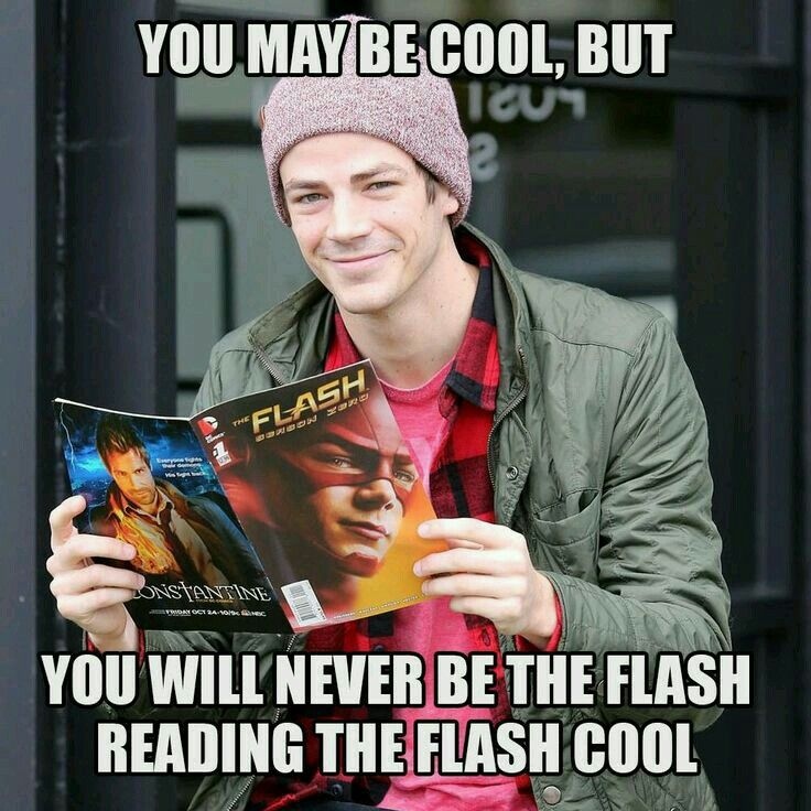 Flash reading flash