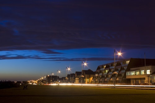 Theres no place like home...Lee on the Solent by night.