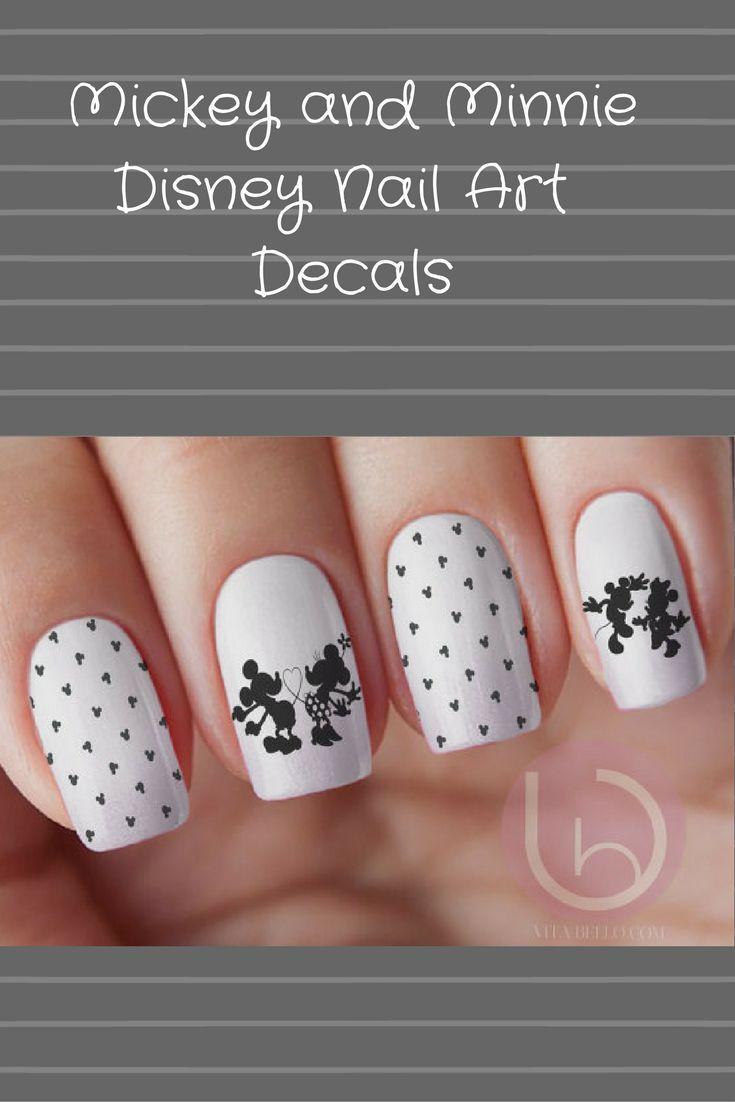 Mejores 292 imágenes de Disney Nail Art en Pinterest | Arte de uñas ...