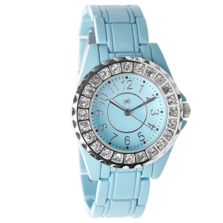 Glittering timepiece.