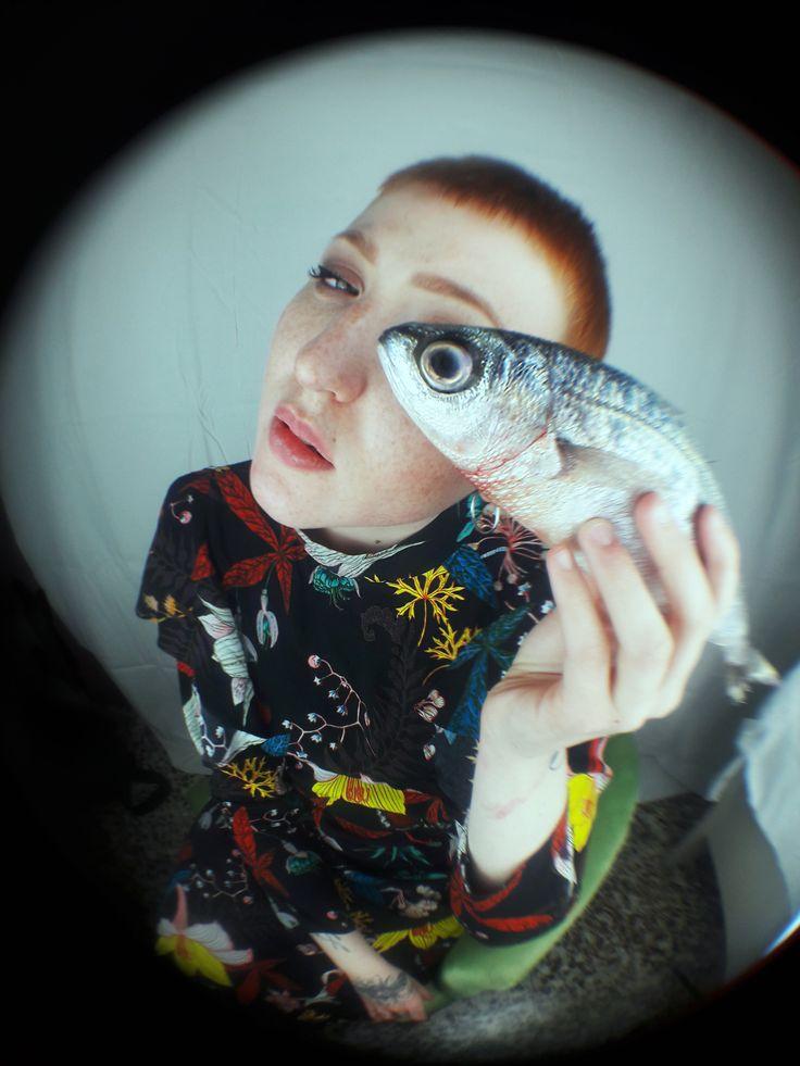 "FISHEYE // ""Hunger"" , Moodboard Magazine #5 // Model Annachiara , Photo by Edith De Michele // Proudly made in Italy"