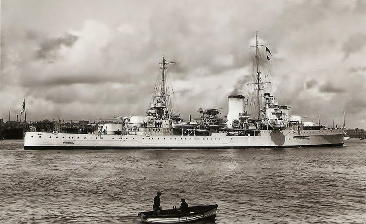 HMS Ajax was a Leander-class light cruiser which served with the Royal Navy during World War II .