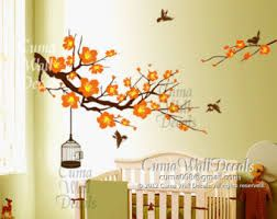 Image result for cherry blossom mural