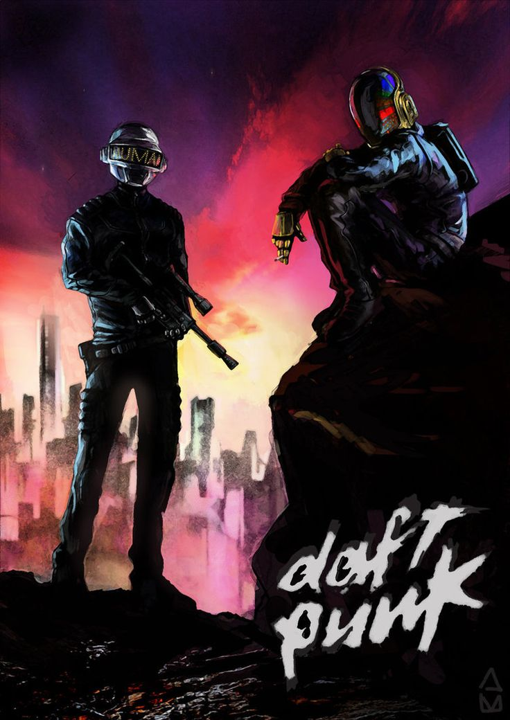 All The Photos Pictures Digital Artworks Of Daft Punk
