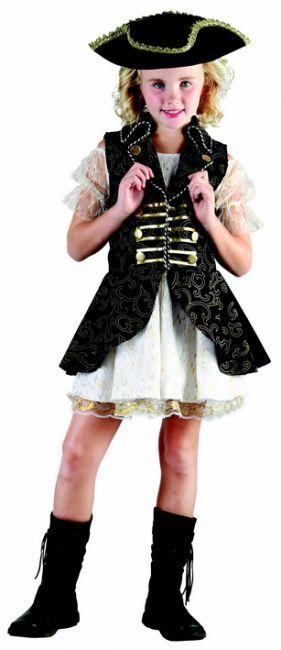 Piraten-Kostüm für Mädchen : Vegaoo Kostüme für Kinder