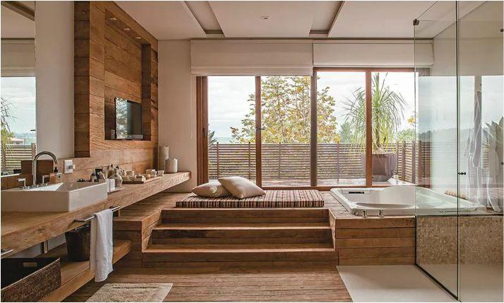 exemplo casa de banho relaxante