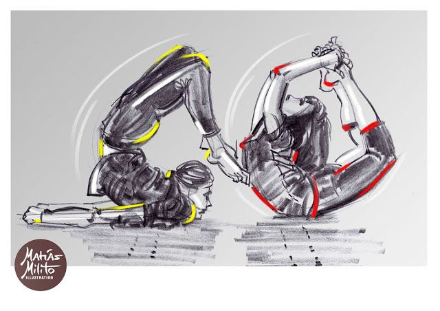 SPORT Illustrations / Ilustraciones DEPORTIVAS