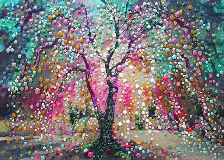 The Creation Tree - Create Your Reality. $48.00, via Etsy.