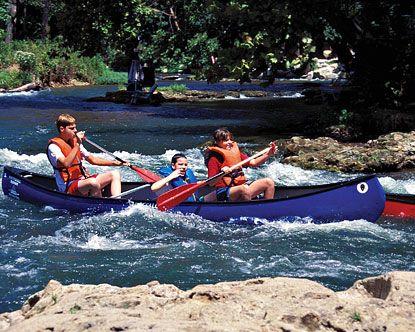 Cossatot River Rafting Tours