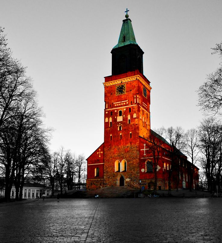 Turku Cathedral :) by Sankar Sivagnanam on 500px
