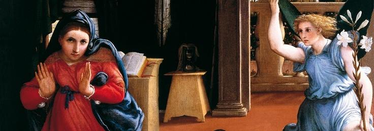 """""""Annunciazione"""" of Lorenzo Lotto"""