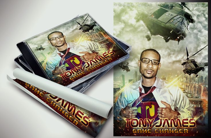 Cover Album Tony James | 2015