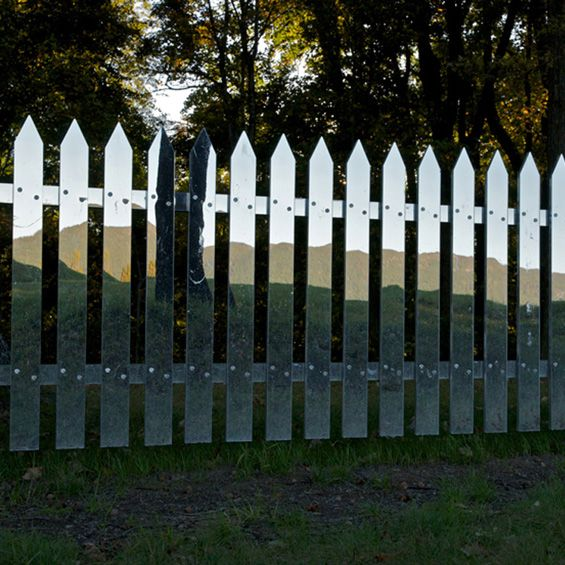 Alyson Shotz : Mirror Fence