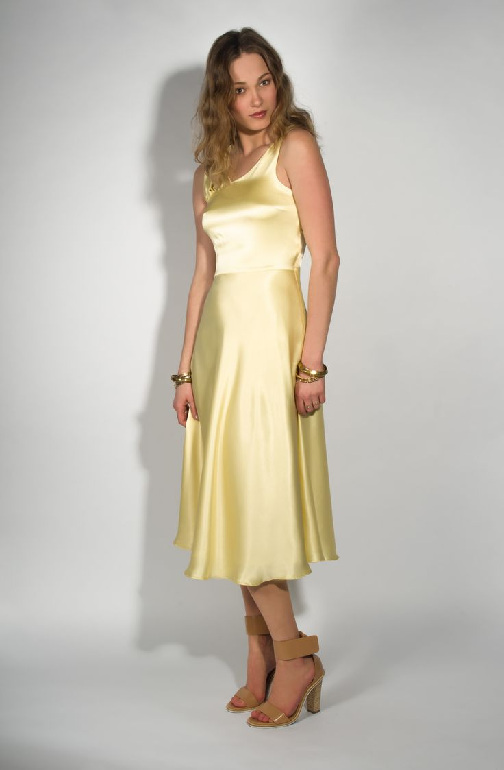 Style n70344 debutante dress - Belle Bunty Portia Satin Dress Silk And Satin Clothing Pinterest