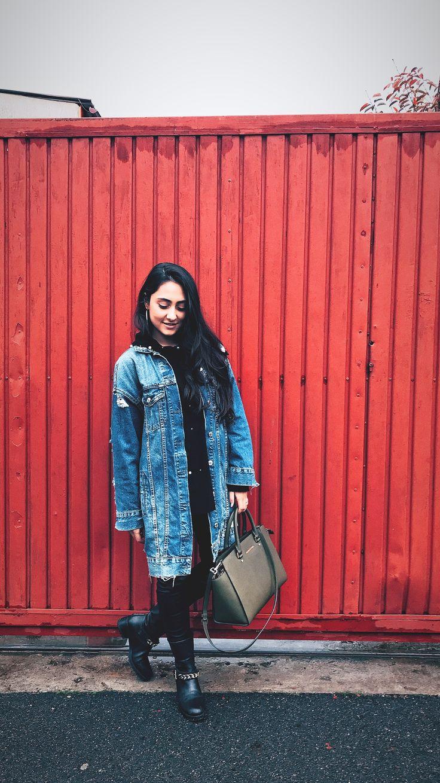 #dailylook #streetstyle #styleinspiration #styleoftheday #jeansjacket #zaradaily #michaelkors