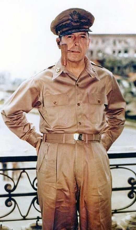 """""""I shall return!""""  Words that will forever last through the years. Gen Douglas MacArthur was a brilliant general who made good on his promise. Check out the MacArthur Memorial and it's war history."""