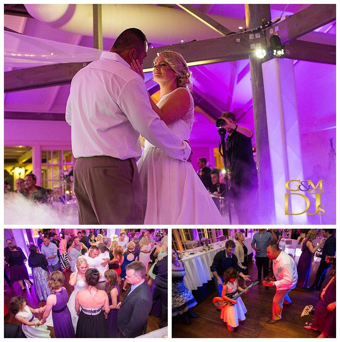 Gold Coast Wedding DJ & MC at Intercontinental Sanctuary Cove. One of our favourite venues with a stunning chapel and a range of event spaces. Intercontinental Sanctuary Cove || Cass & Dan's Bridal Waltz. #PurpleUplighting #weddingdjgoldcoast #weddinglighting #gmdjs #magnifiqueweddings @InterConSanc