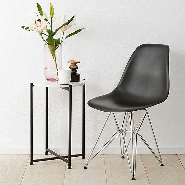 Replica Eames DSR Chair - Black