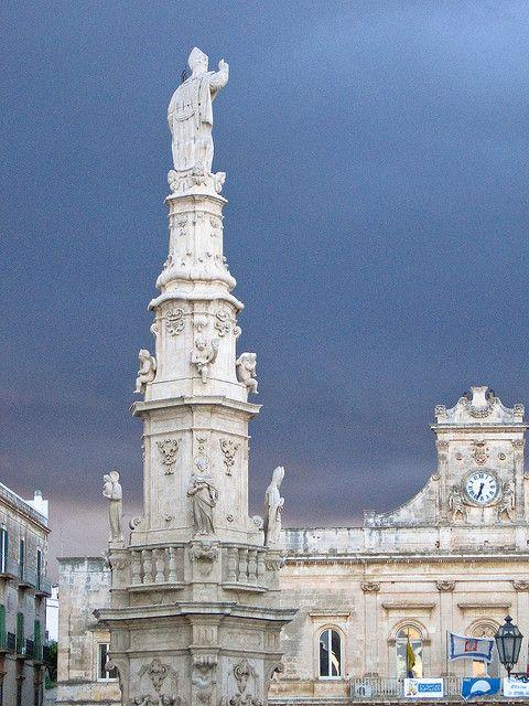 Colonna di Sant'Oronzo, Ostuni, Brindisi, Puglia