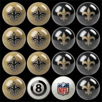 New Orleans Saints Pool Balls - click image to enlarge